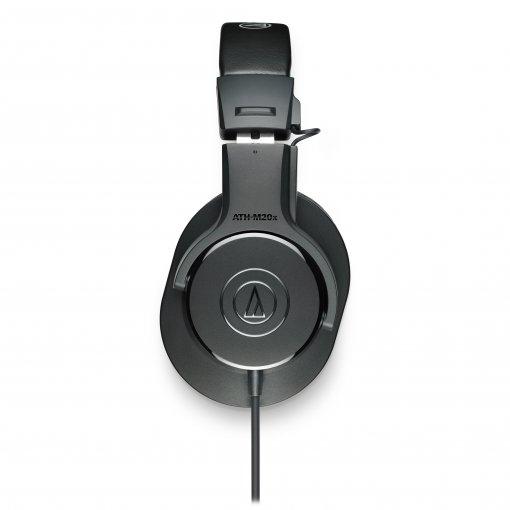 Fone de ouvido profissional para monitoramento (over-head) | ATH-M20X | Audio Technica