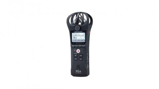 Gravador digital de áudio com Mics X/Y 90˚ | 24-bit/96 kHz | BWF-compliant e MP3 | Zoom | H1n