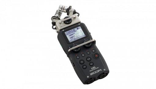 Gravador Digital Portátil de Áudio | Cartão SD ou SDHC | Microfone XYH-5 XY | WAV, MP3 | Zoom | H5