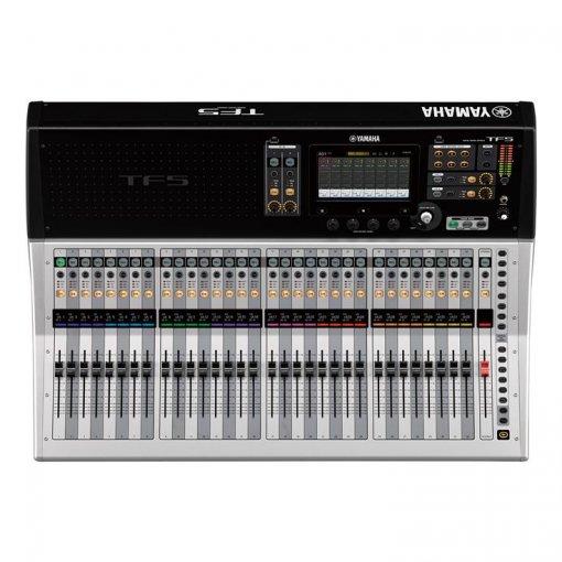 Mesa de som digital com 48 canais (40 mono + 2 stereo+ 2 return) | 20 Aux buses | Yamaha | TF5