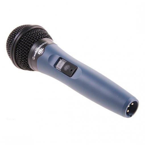 Microfone dinâmico cardioide para vocal | Chave Liga/desliga | Cabo com 4,5 m | MB 1k/CL | audio-technica