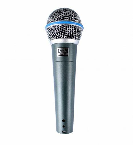 Microfone dinâmico profissional com fio | BA58 | JWL