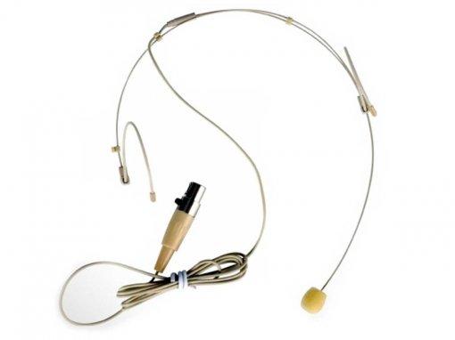 Microfone headset para sistema sem fio | Conexão MINI XLR 3 Pinos | TSI | HS-FINE-XLR
