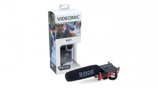 Microfone shotgun com suspensão Rycote para câmeras de vídeo e gravadores   RODE   VideoMic