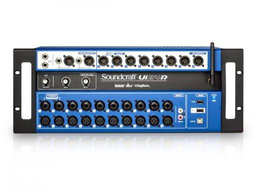 Mixer digital de 24 canais, Wi-Fi e Interface USB multipista para gravação | Soundcraft | UI24R