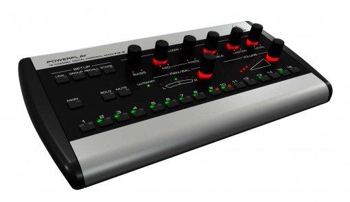 Mixer individual amplificador de fone 16 canais com funções solo, mute e EQ | Behringer | P16-M