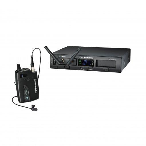 Sistema de microfone sem fio digital | 2,4 GHz 24-bit / 48kHz | Microfone transmissor de Lapela | ATW-1301/L | audio-technica