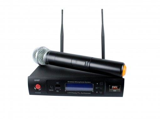 Sistema de microfone sem fio - UHF - Digital - Com bastão de mão | U80 | JWL