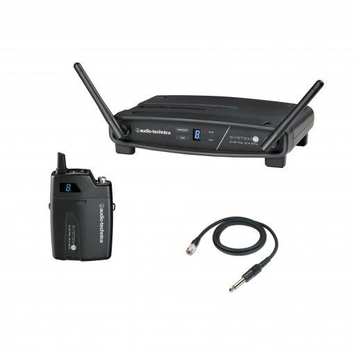Sistema de transmissão sem fio digital para Guitarra | 2,4 GHz | ATW-1101/G | audio-technica