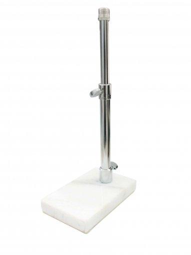 Suporte de mesa para microfone, com haste telescópica e base de mármore | PM1 | Deval