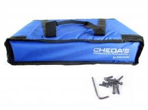 Imagem - Bag Case 2U, barra dupla de alumínio, revestido com espuma e nylon preto | Solid Sound | BAG2UTPT - BAG2UTAZ