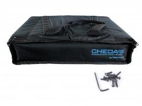 Imagem - Bag Case 2U, barra dupla de alumínio, revestido com espuma e nylon preto | Solid Sound | BAG2UTPT - BAG2UTPT