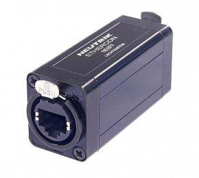 Imagem - Acoplador de passagem Ethernet etherCON RJ45 para extensões de cabo | Neutrik | NE8FF - NE8FF