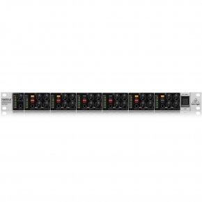 Imagem - Amplificador de fone 6 canais | 1 unidade de rack e Chave mono/estéreo | Behringer | HA6000 - HA6000