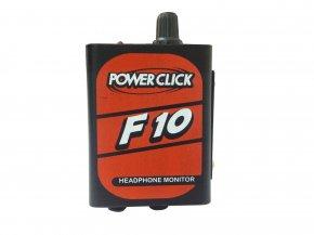 Imagem - Amplificador de fone com 1 canal | Fonte ou Bateria | Power Click | F10 - F10