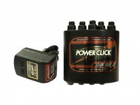 Imagem - Amplificador de fone e mixer de 2 canais estéreo | Bateria ou Fonte já inclusa | Power Click | BD05S - DB05S