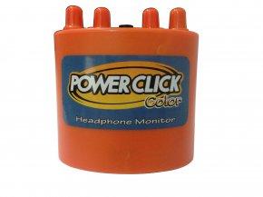 Imagem - Amplificador de fone e mixer de 2 canais mono | Bateria 9v ou Fonte | Power Click | COLOR LINE - ORANGE