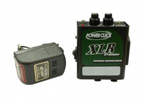 Imagem - Amplificador de Fone estéreo de 2 canais e conexão XLR | Bateria 9v ou Fonte | Power Click | XLR S  - XLRS