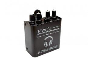 Imagem - Amplificador de fone individual com 2 canais | Fonte ou Bateria 9V | PWS | PH2000 - PH2000