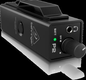 Imagem - Amplificador de fone ultra-compacto com 1 entrada XLR / P10 e até 12 horas com 2 pilhas AAA | Behringer | P2 - P2
