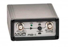 Imagem - Amplificador de sinal para microfone sem fio | MGA Pro Audio | AB-1 - AB-1
