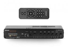 Imagem - Amplificador de som ambiente de 2x 120 Watts | Bluetooth, USB, FM e Mic | Frahm | SLIM 3500 APP G2 - SLIM3500APPG2