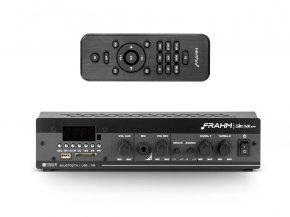 Imagem - Amplificador de som ambiente de 2 canais de 30W | Bluetooth, USB, FM e Mic | Frahm | SLIM 1600 APP - SLIM1600APP