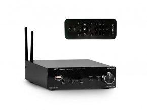 Imagem - Amplificador de som ambiente de 2 canais de 80W | Wi-fi, Bluetooth, USB e FM | Frahm | RD 160 WIFI - RD160/WI-FI