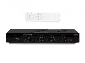 Imagem - Amplificador de som ambiente de 4x de 120 watts | Bluetooth, USB, FM e Mic | Frahm | SLIM 4500 APP - SLIM4500APP