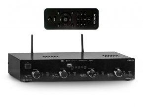 Imagem - Amplificador de som ambiente de 8 canais de 60W  | Wi-fi, Bluetooth, USB e FM | Frahm | RD 480 WIFI - RD480/WI-FI