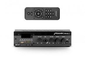 Imagem - Amplificador e receiver para som ambiente 40W RMS | SLIM 1000 APP G2 | Frahm - SLIM1000APPG2