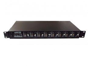 Imagem - Amplificador para fone de ouvido com 8 canais via P2 Estéreo | Bivolt, Rack 19