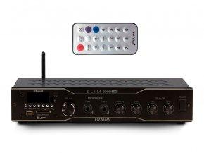 Imagem - Amplificador som ambiente com 120W Bivolt | Bluetooth, USB, FM e Microfone | Frahm | SLIM 2000 APP - SLIM2000APP