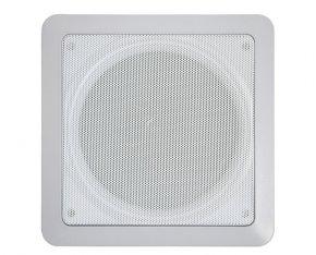 Imagem - Arandela quadrada 2 vias com alto-falante coaxial de 6