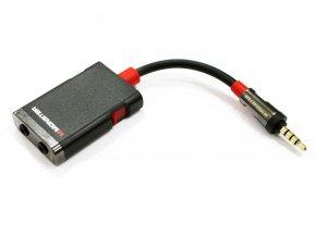 Imagem - Cabo Y Splitter para plug P2 estéreo com chave On / Off | Monster Cable | iSplitter 1000 - iSplitter1000
