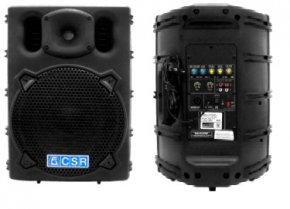Imagem - Caixa de som ativa 2 vias com alto-falante de 10