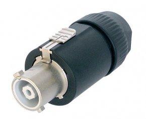 Imagem - Conector PowerCON de cabo para corrente de 32A e tensão de até 250V | Neutrik | NAC3FC-HC - NAC3FCHC