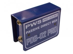 Imagem - Direct Box passivo com caixa de metal e aterramento | PWS | PDB-02 PRO - PDB02PRO