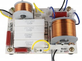 Imagem - Divisor de Frequência 2 vias Passivo | 1 ou 2 Alto-falantes + 1 Driver de Titanium de até 650W RMS | DF652TI | Nenis