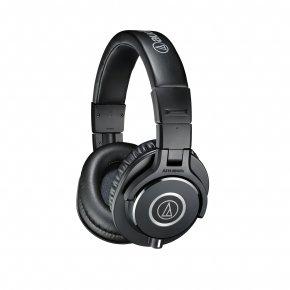 Imagem - Fone de cabeça profissional para monitoramento (over-head) | ATH-M40x | Audio Technica - ATH-M40X