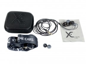 Imagem - Fone In-Ear Preto Translúcido com 1 Microdriver de 117 dB | XTREME EARS | STAGE - STAGEPT