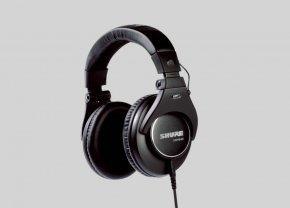 Imagem - Fone de ouvido profissional otimizado para gravação em estúdio e áudio crítico | SHURE | SRH840 - SRH840