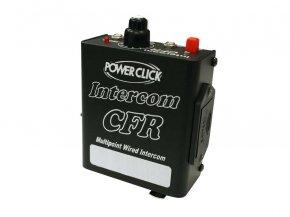 Imagem - Intercom para sistema de comunicação a cabo, alcance de até 50m, fonte / bateria | Power Click | CFR - CFR