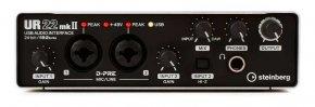 Imagem - Interface de áudio 2 x 2 | USB 2.0 | D-PRE | 192 kHz | MIDI | Steinberg | UR22MkII