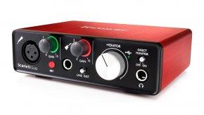 Imagem - Interface de áudio USB 2.0 com 1 Pré-amplificador e 2 canais de entrada | Focusrite | Scarlett Solo 2st generation - SCARLETTSOLO