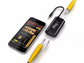Imagem - Interface para Smartphone e Instrumento de corda com saída para fone e amplificador | Irig2 | IK Multimedia - IRIG2