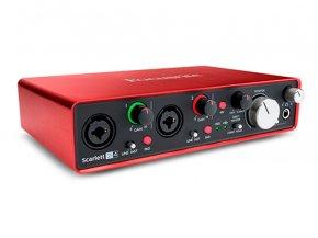 Imagem - Interface USB 2.0 com 2 pré-amplificadores / 4 saídas | Focusrite | Scarlett 2i4 2nd Geração - SCARLETT2I4/2G