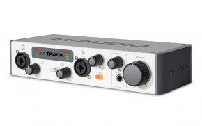 Imagem - Interface USB, 2 canais de entrada e 2 saídas balanceadas P10 | 24 bit/48 KHz | M-Audio | M-TRACK - M-TRACK