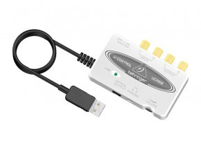 Imagem - Interface USB 2 entradas e 2 saídas | Saída para Fone e Saída Óptica | Behringer | U-CONTROL UCA202 - UCA202