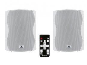 Imagem - Kit de caixas acústicas brancas Ativa + Passiva com Bluetooth de 6 polegadas e 120W RMS | Frahm | KIT PS PLUS BT 6 - KITPSPLUSBT6-BR